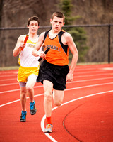 Terryville Track Team & Action 4-14-15