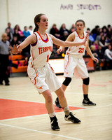 Terryville Girls Varisty Basketball 2-13-15