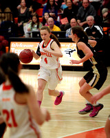 Terryville Girls Varsity Basketball 1-16-14