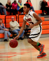 Terryville Boys JV Basketball 1-16-14
