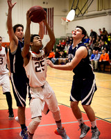 Terryville Boys Varsity Basketball 1-28-15